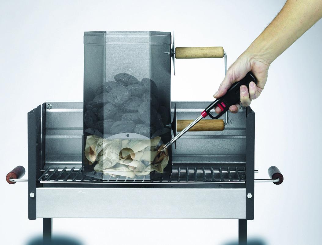 light barbecue starter