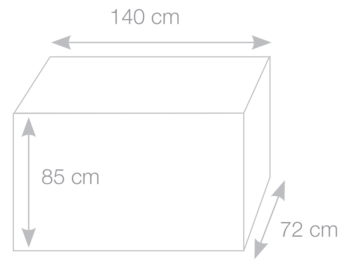 Kitchen cover dimensions