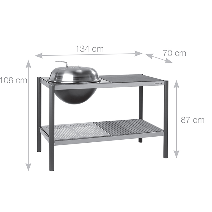 Dancook kitchen dimensions